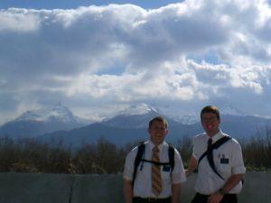 Bryan & companion in Trevalin