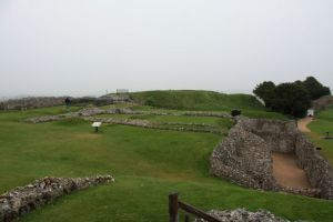 Part of Old Sarum ruins