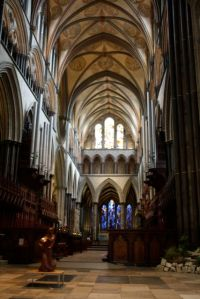 Salisbury Cathedral interior - gorgeous!
